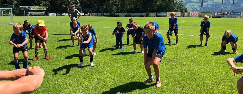 Kids Fußballwoche Mils 2021