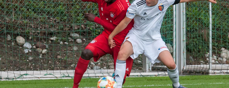 Bilder vom Spiel Bayern U17 - FC Basel U17