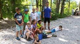 Abschlussausflug SC Mils U10 in den Abenteuerpark Achensee